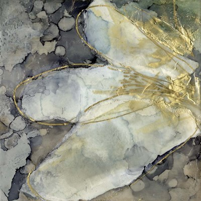Abstracted Lily I art print by Jennifer Goldberger for $61.25 CAD