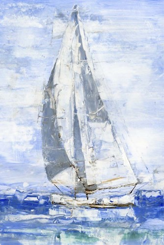 Blue Sails I art print by Ethan Harper for $97.50 CAD