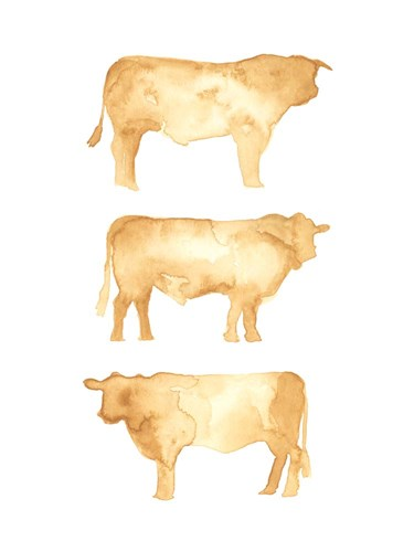 Hereford Trio II art print by Jacob Green for $38.75 CAD