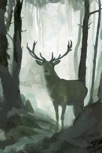 Elemental Animals I art print by Jacob Green for $60.00 CAD