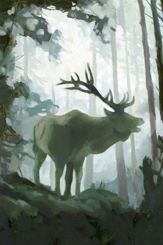 Elemental Animals II art print by Jacob Green for $60.00 CAD