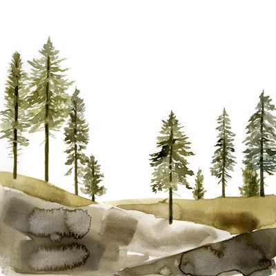 Pine Hill I art print by Jacob Green for $53.75 CAD