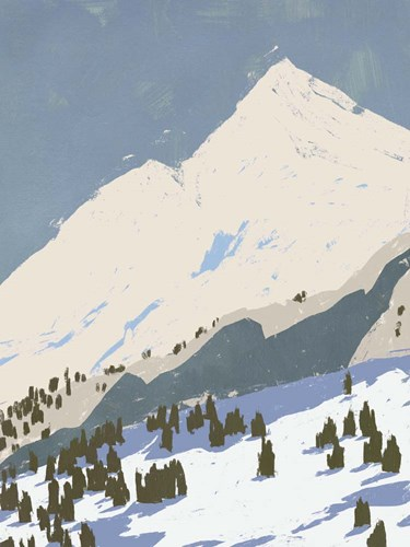 Bunny Slopes I art print by Jacob Green for $63.75 CAD