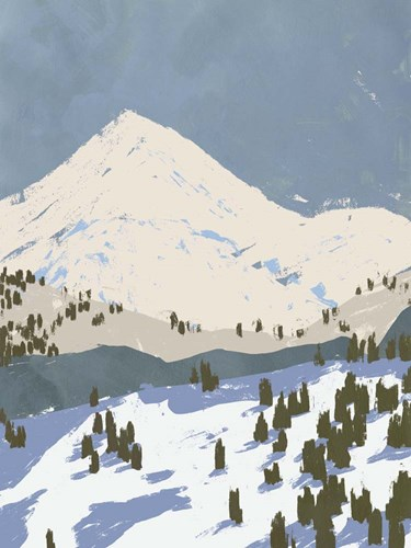Bunny Slopes II art print by Jacob Green for $63.75 CAD