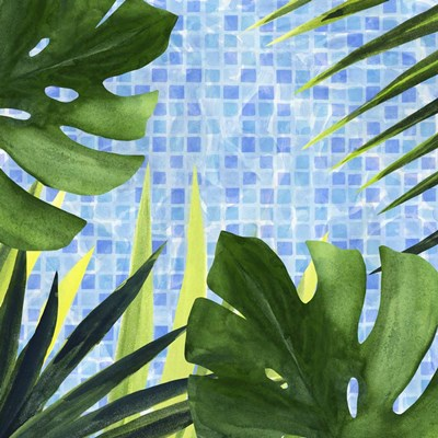 Poolside Shade I art print by Annie Warren for $53.75 CAD