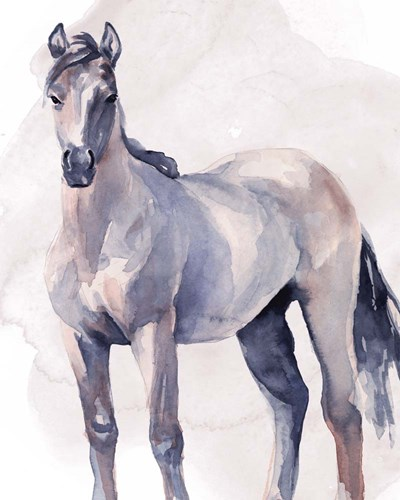 Horse in Watercolor II art print by Jennifer Parker for $53.75 CAD