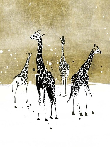 Spotted Giraffe I art print by Annie Warren for $63.75 CAD