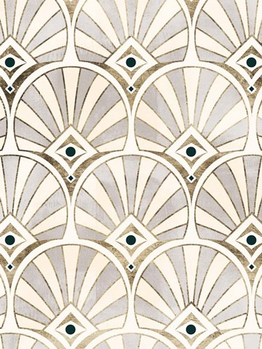Deco Patterning I art print by Victoria Barnes for $63.75 CAD