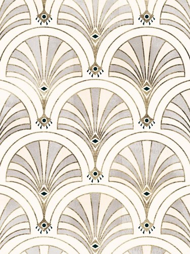 Deco Patterning II art print by Victoria Barnes for $63.75 CAD