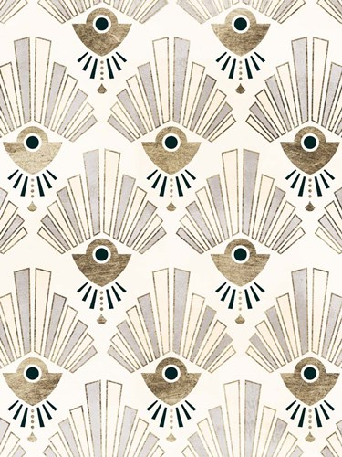 Deco Patterning III art print by Victoria Barnes for $63.75 CAD