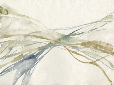Watercolor Waves I art print by Jennifer Goldberger for $63.75 CAD