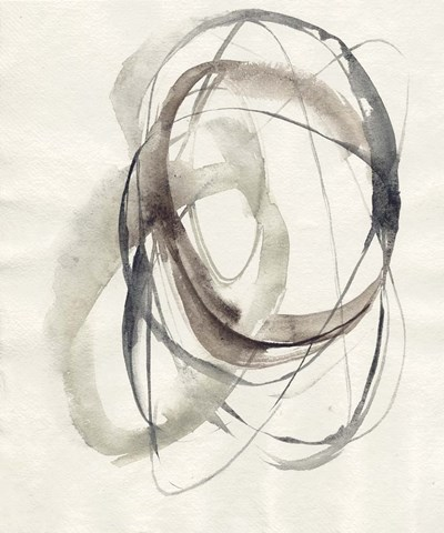 Spiral Hoops I art print by Jennifer Goldberger for $67.50 CAD