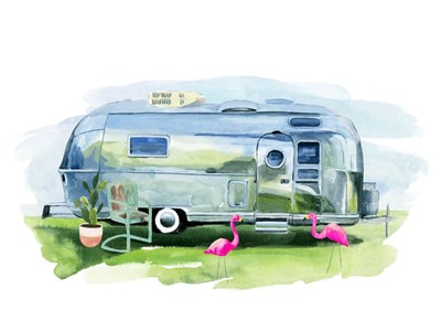 Happy Camper I art print by Annie Warren for $63.75 CAD