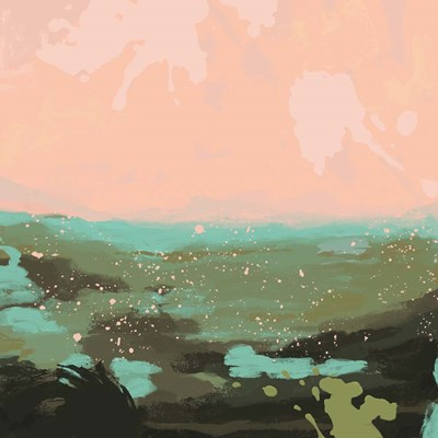 Neon Expanse I art print by Jacob Green for $53.75 CAD