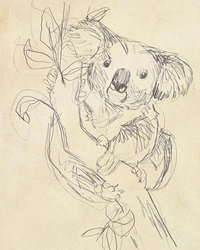 Outback Sketch II art print by June Erica Vess for $53.75 CAD