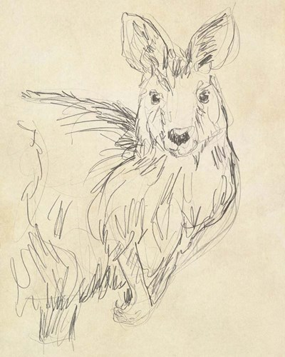 Outback Sketch III art print by June Erica Vess for $53.75 CAD