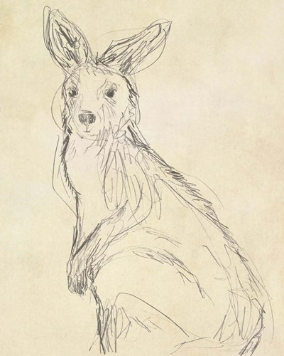 Outback Sketch IV art print by June Erica Vess for $53.75 CAD