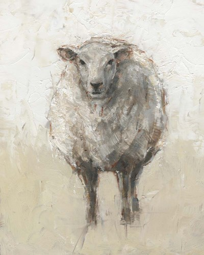 Fluffy Sheep I art print by Ethan Harper for $53.75 CAD