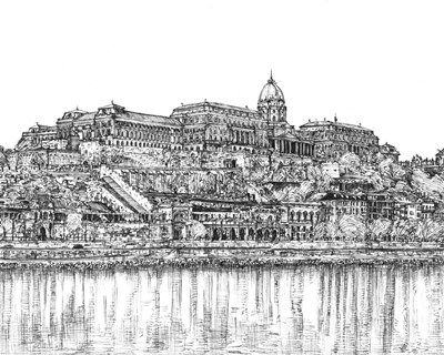 European Vacation in B&W III art print by Melissa Wang for $53.75 CAD