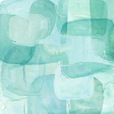 Sea Glass Reflection I art print by Annie Warren for $32.50 CAD