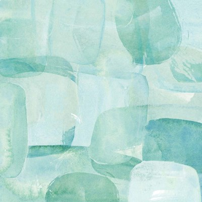 Sea Glass Reflection II art print by Annie Warren for $32.50 CAD