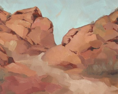 Red Rocks View I art print by Jacob Green for $53.75 CAD