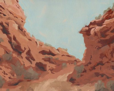 Red Rocks View II art print by Jacob Green for $53.75 CAD