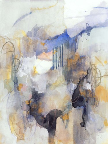 Watercolor Tatter IV art print by Victoria Barnes for $133.75 CAD