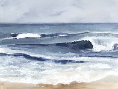 Surf Spray I art print by Victoria Barnes for $63.75 CAD