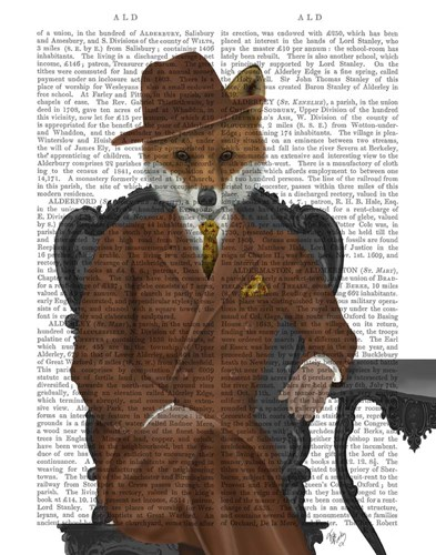 Fox 1930s Gentleman art print by Fab Funky for $33.75 CAD