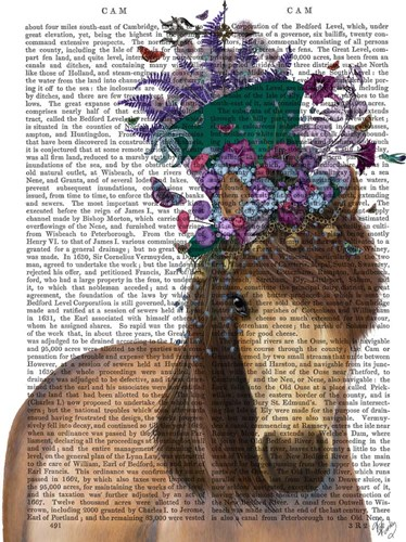 Horse Mad Hatter art print by Fab Funky for $35.00 CAD