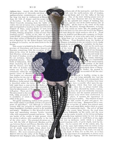 Ostrich with Kinky Boots art print by Fab Funky for $33.75 CAD
