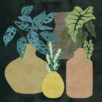 Decorative Vases II art print by Melissa Wang for $112.50 CAD