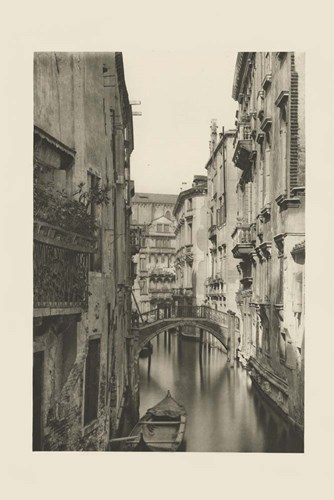 Vintage Views of Venice IV art print by Ferdinand Ongania for $87.50 CAD