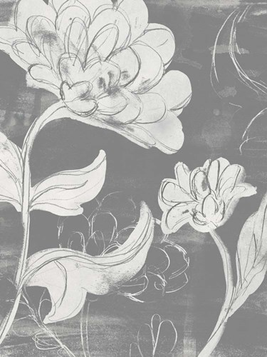 Grayscale Garden I art print by June Erica Vess for $81.25 CAD