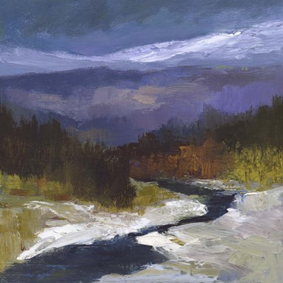Mountain Colors I art print by Sheila Finch for $127.50 CAD