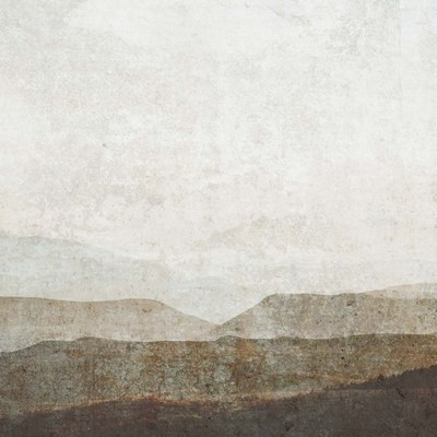 Burnished Mountains II art print by Victoria Barnes for $112.50 CAD