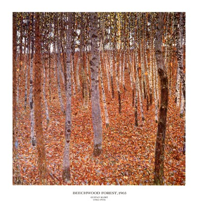Forest of Beeches, c.1903 art print by Gustav Klimt for $31.25 CAD