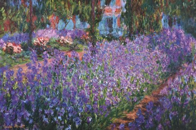 The Artist's Garden at Giverny, c.1900 art print by Claude Monet for $102.50 CAD