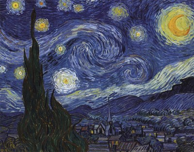 The Starry Night, c.1889 art print by Vincent Van Gogh for $36.25 CAD