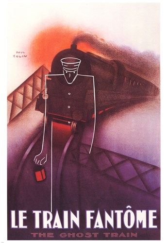 Train Fantome art print by Paul Colin for $120.00 CAD