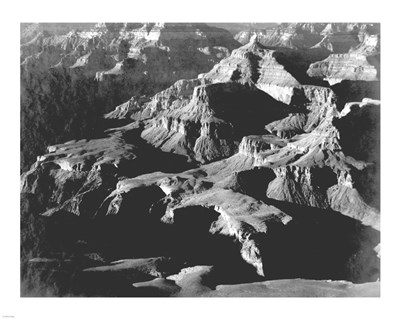 Grand Canyon close in panorama art print by Ansel Adams for $25.00 CAD