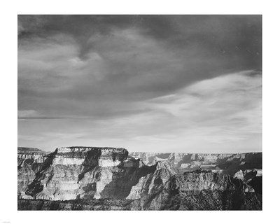 View from the North Rim, Grand Canyon National Park, Arizona, 1933 art print by Ansel Adams for $56.25 CAD