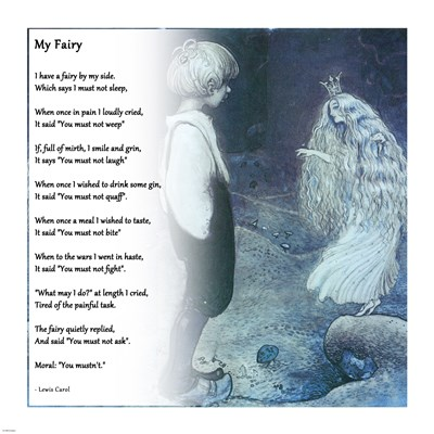 My Fairy by Lewis Carroll art print by Unknown for $48.75 CAD