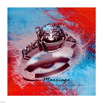 Marriage Quote I art print by Cheryl Valentino for $41.25 CAD