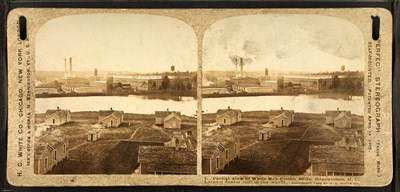 Partial view of White Oak Cotton Mills. Greensboro, NC art print by Unknown for $53.75 CAD