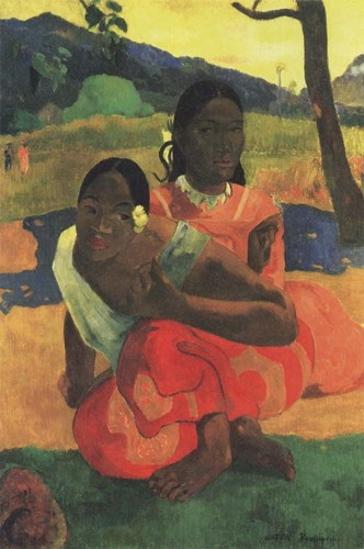 When You Hear art print by Paul Gauguin for $35.00 CAD