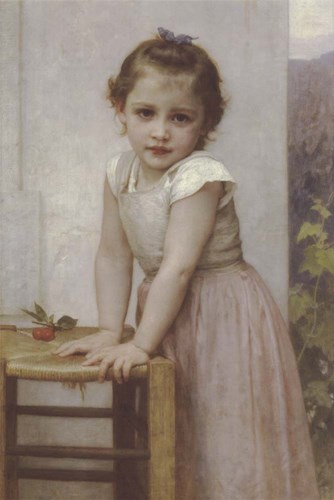 Yvonne art print by William Adolphe Bouguereau for $35.00 CAD