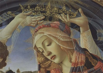 Madonna of the Magnificat (detail) art print by Sandro Botticelli for $36.25 CAD