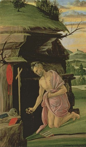 St. Jerome, 1490s art print by Sandro Botticelli for $32.50 CAD